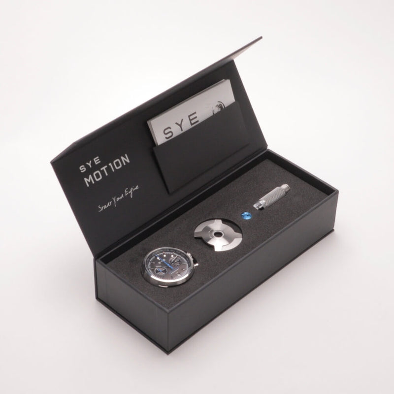 SYE MOT1ON Chronograph [Black edition]-[variant_title]-sye-startyourengine-watches-and-straps