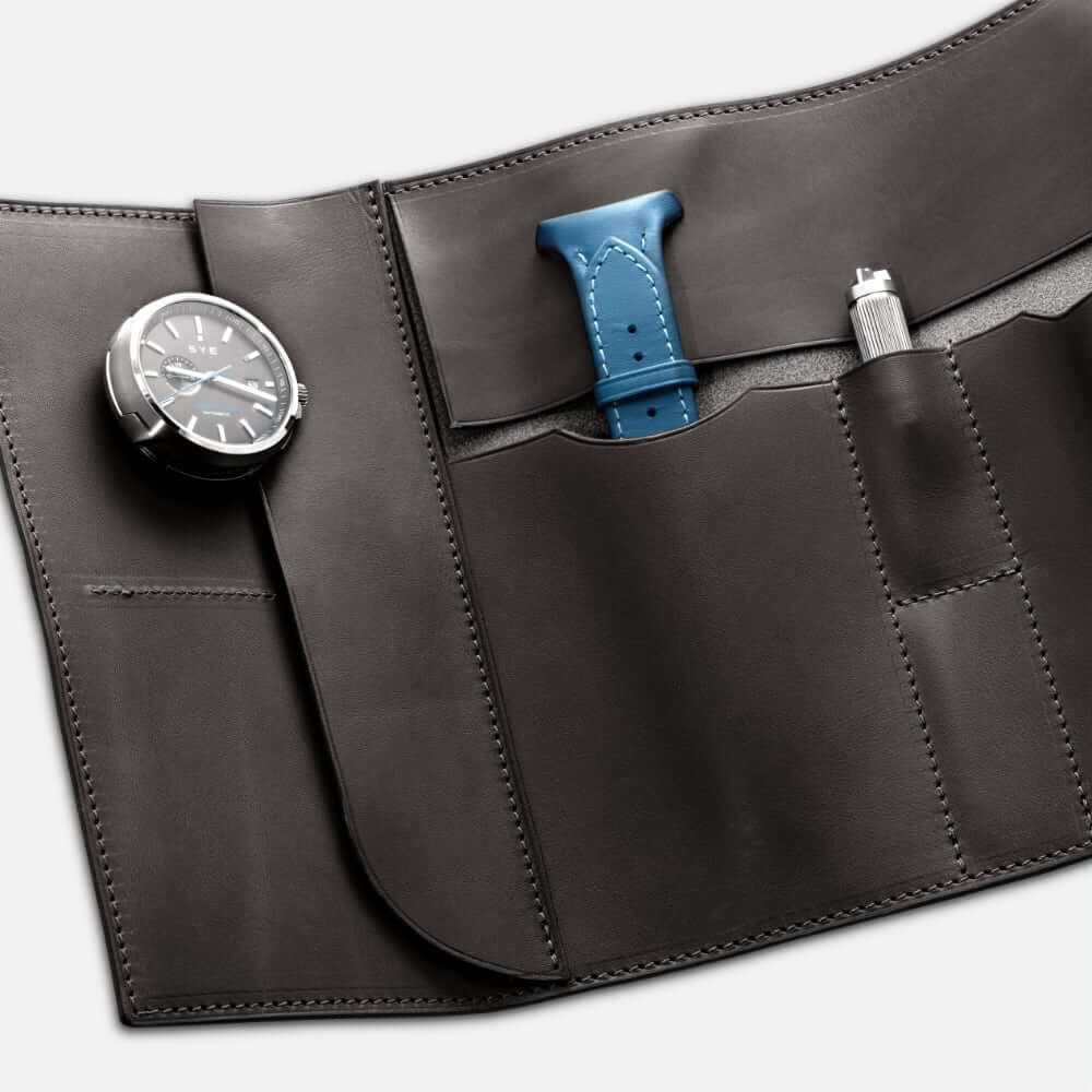 Fastback™ watch roll - carbon black