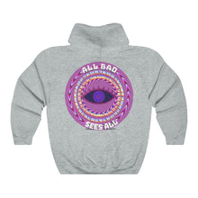 Load image into Gallery viewer, All Bad Sees All Unisex Heavy Blend™ Hooded Sweatshirt
