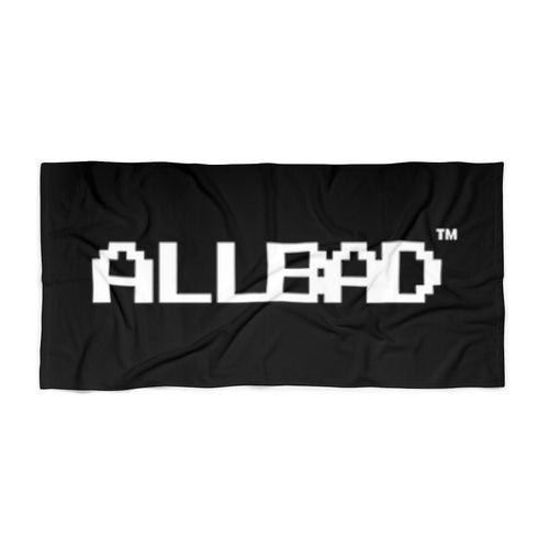 All Bad Beach Towel