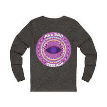 Load image into Gallery viewer, All Bad Sees All Women's Long Sleeve Tee