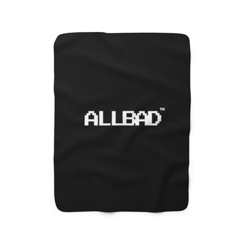 All Bad Fleece Blanket