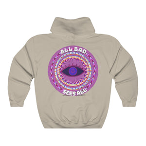 All Bad Sees All Unisex Heavy Blend™ Hooded Sweatshirt