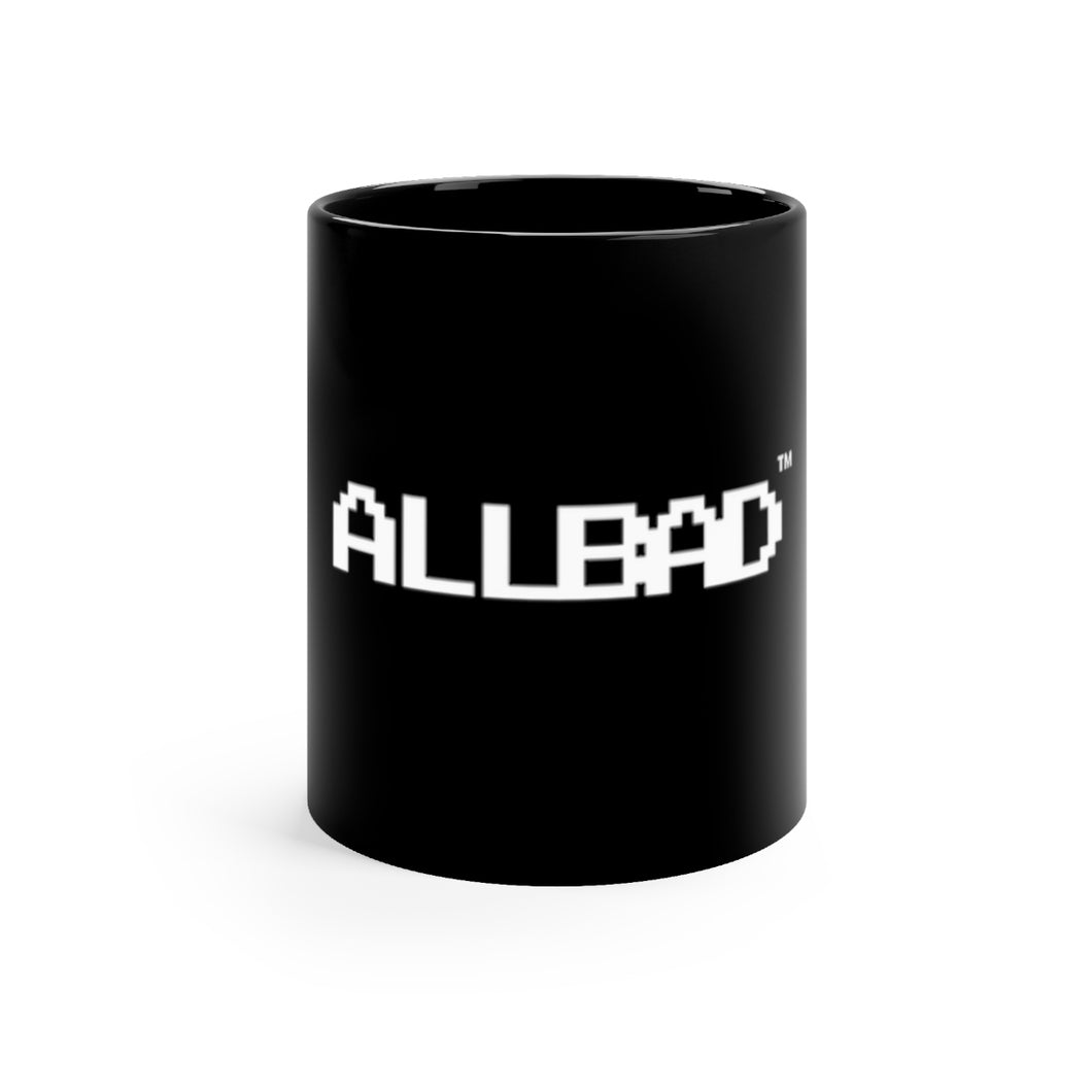 All Bad Black mug 11oz