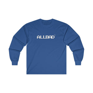 All Bad Very Important Cotton Long Sleeve Tee