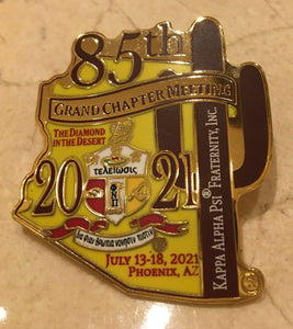 Limited Edition 85th Grand Chapter Meeting lapel pin