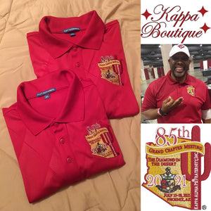 Red Short Sleeve Shirt - Kappa Alpha Psi 85th Grand Chapter Meeting