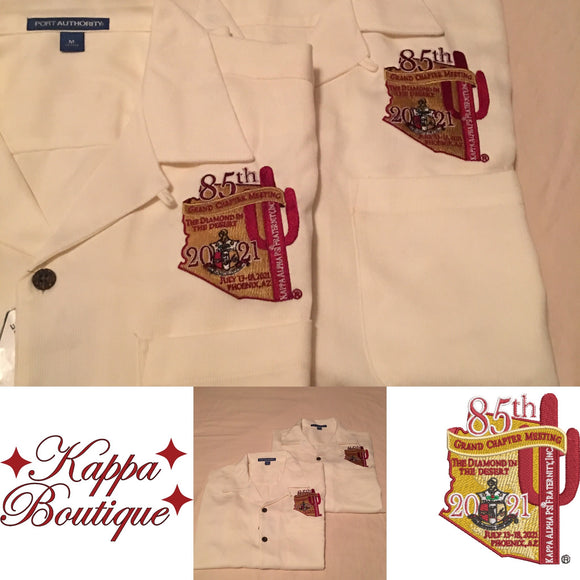 Ivory Shirt - Kappa Alpha Psi 85th Grand Chapter Meeting