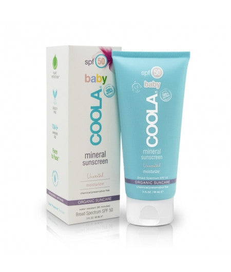 COOLA Suncare | baby spf 50 unscented moisturizer