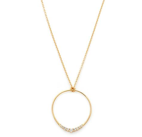 Leah Alexandra | Halo Circle Necklace