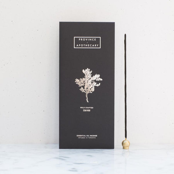 Province Apothecary | Cedar Wood Incense