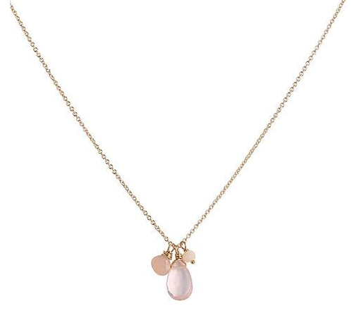 Leah Alexandra | Isabel Necklace in Pink