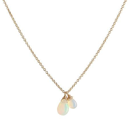 Leah Alexandra | Isabel Necklace in Opal