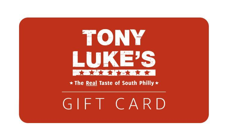 TonyLukes.com Digital Gift Card