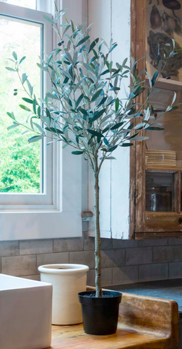 OLIVE Tree Tuscan Faux Decor  -
