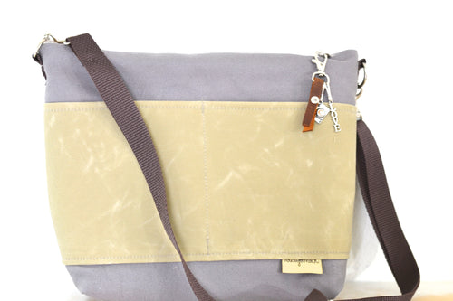 Camera bag travel size / Grey and Sand