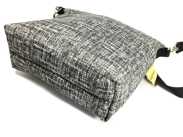 Mack Sack Travel camera bag/ Black & White crosshatch