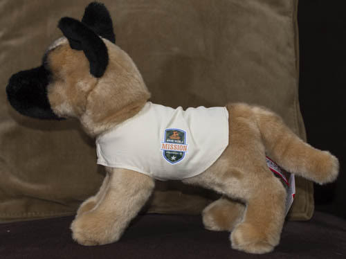 Navy SEAL K-9 Stuffed Animal