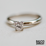 .30ct Solitaire Engagement Ring (PURE GOLD)
