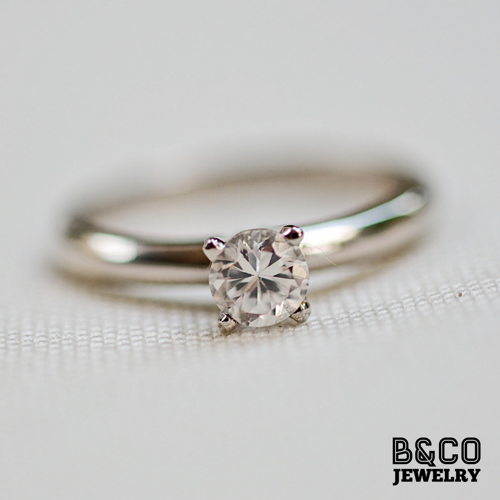 .30ct Solitaire Engagement Ring