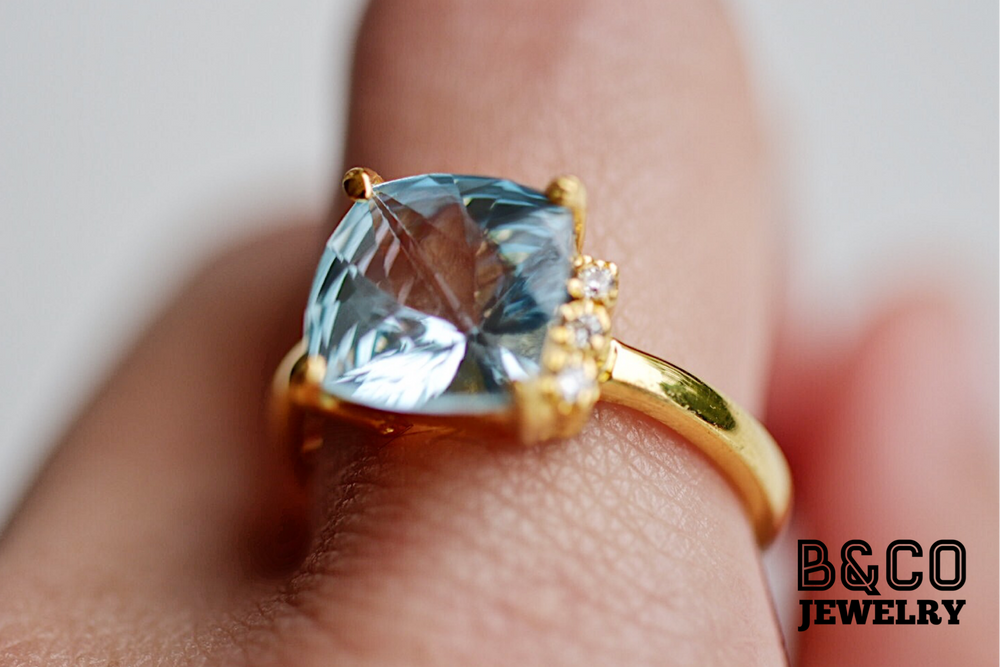 Basque Gemstone Ring