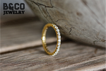 2mm Eternity Ring Signity Stone