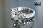 3ct Picasso Engagement Ring