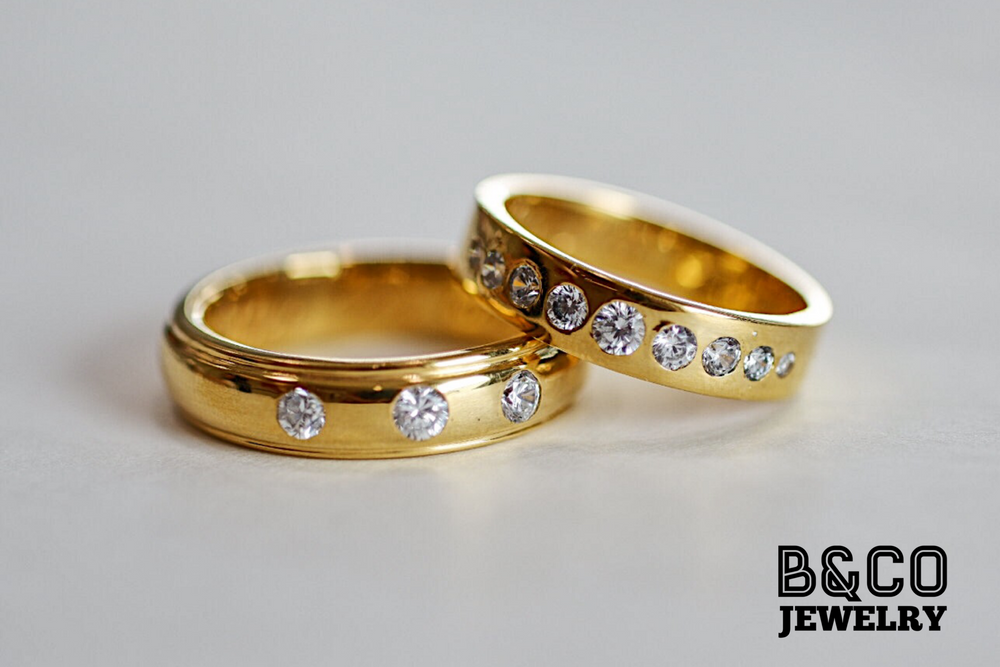 La Belle Wedding Rings