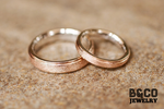 Miniatura Italia Two Tone Wedding Rings
