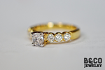 .50ct Milan Engagement Ring (PURE GOLD)