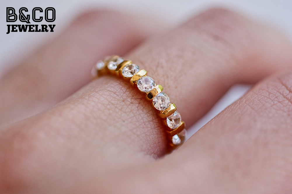 3mm Rome Eternity Ring