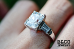 3ct Louvre Engagement Ring