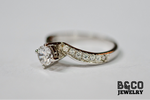 .50ct Aristi Twisted Engagement Ring (PURE GOLD)