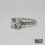 3ct Dublin Engagement Ring