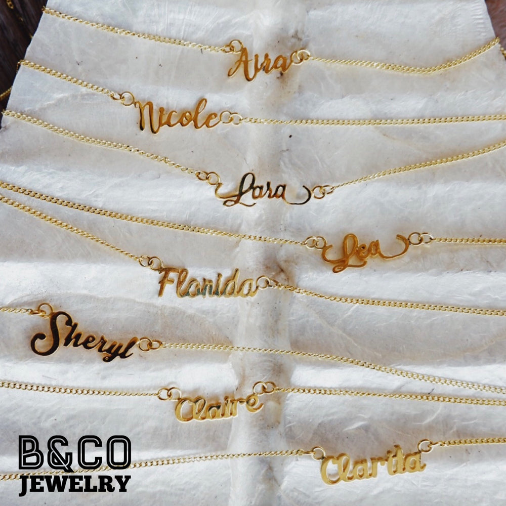 Personalized Name / Signature Necklace