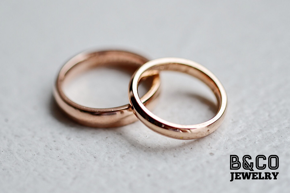 Classic Plain Wedding Rings