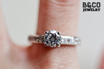 1ct Sintra Engagement Ring