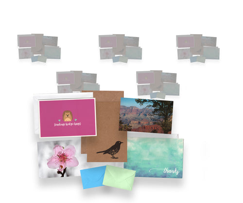 Stationery Box 6 Month Subscription