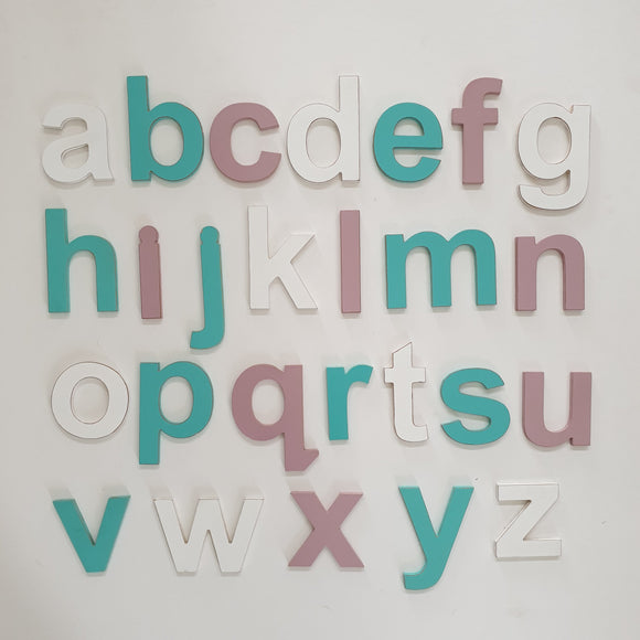 Individual letters