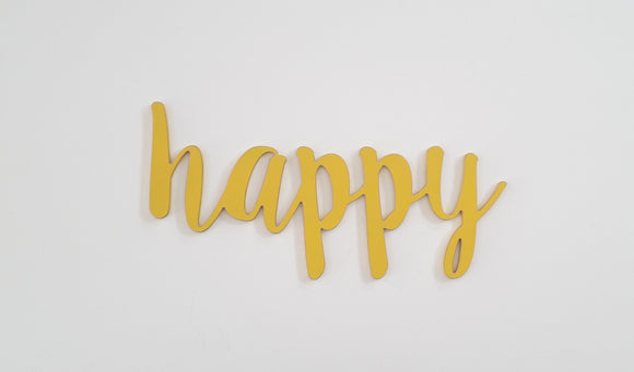 happy (new script)