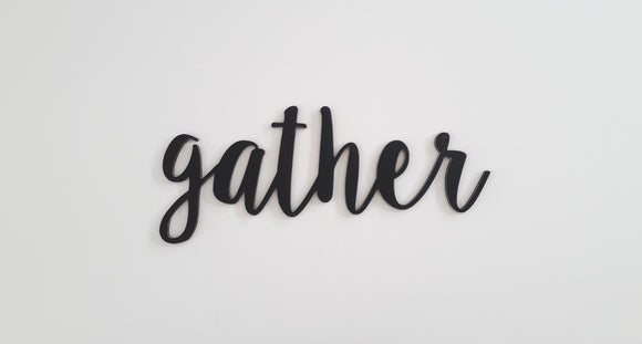 gather ( new script)