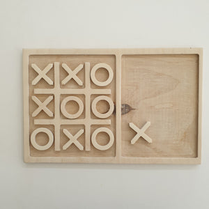 Noughts & crosses wooden games