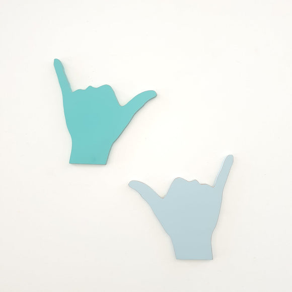 Hang loose sign