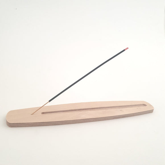 birch ply incense holder