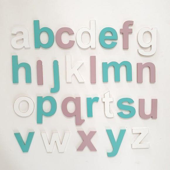 Individual letters - lowercase