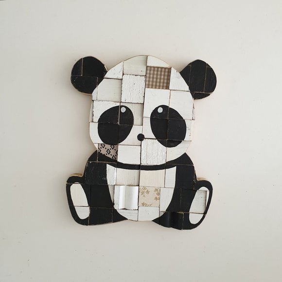 Panda bear wall art