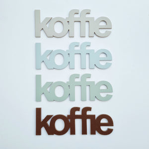 SALE stock - koffie