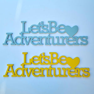 SALE stock - lets be adventures