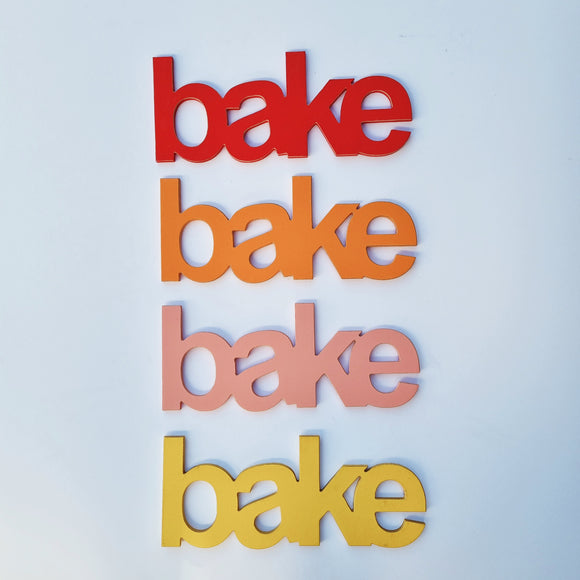 SALE stock - bake