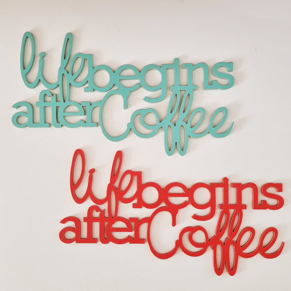 SALE stock  - life begins after coffee